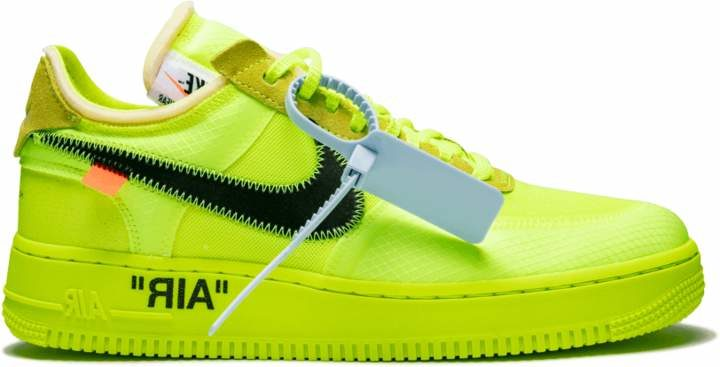 The Nike Air Force One Receives An Off White Volt Revamp Real